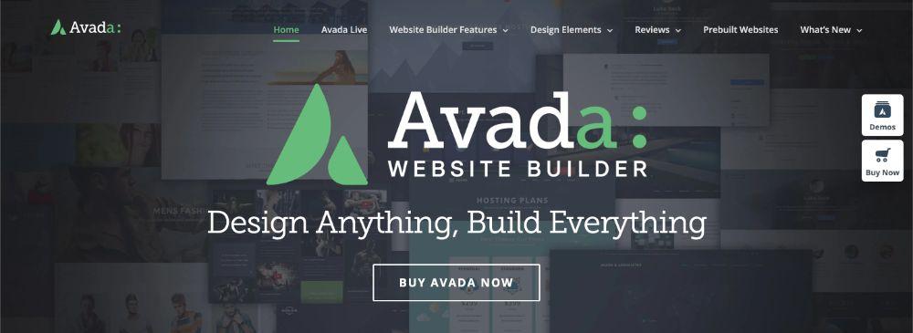 Avada WordPress thema kiezen