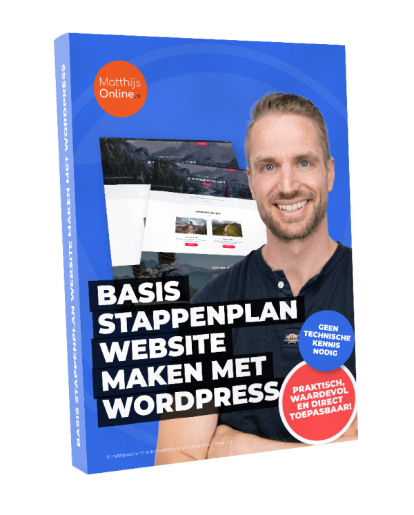 Basis stappenplan website maken met WordPress pdf download