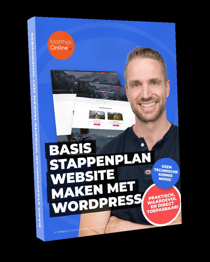 Basis stappenplan website maken met WordPress pdf