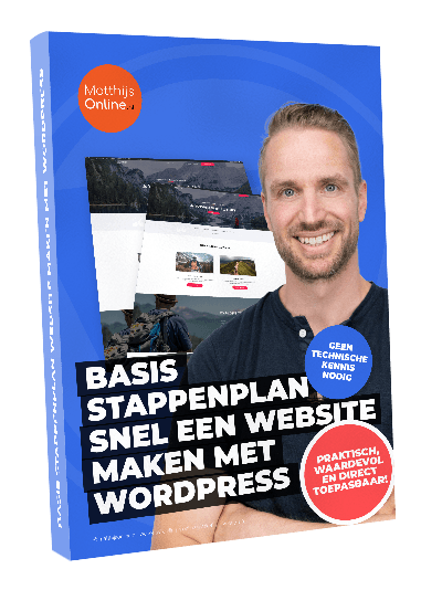 Basis stappenplan snel website maken WordPress download
