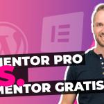 Elementor Pro vs gratis vergelijken