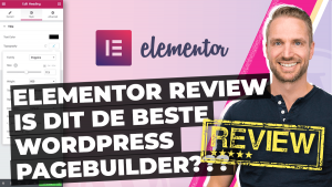 Elementor Review Beste pagebuilder
