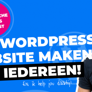 Gratis cursus website maken met WordPress