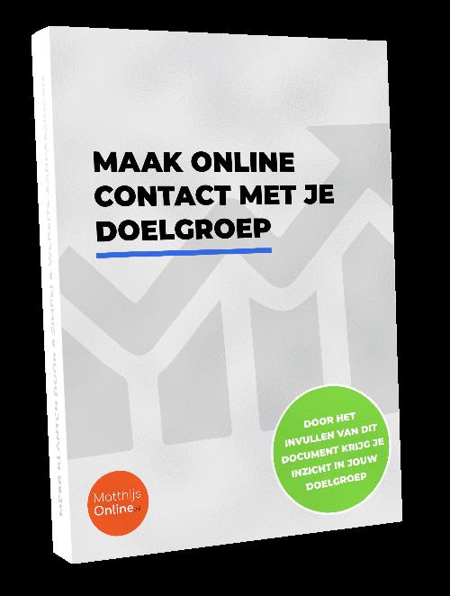Online contact doelgroep