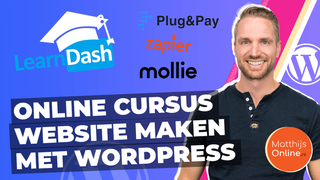 Online cursus website maken wordpress tools