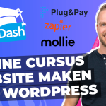 Online cursus website maken wordpress tools