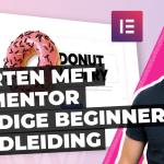 Starten met Elementor - Handige beginners handleiding